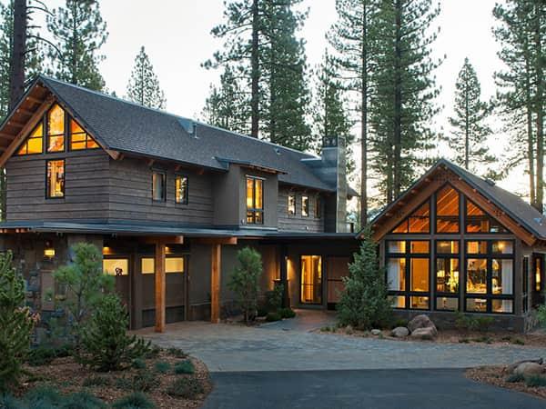 Дерев'яні будинки від компанії Терком