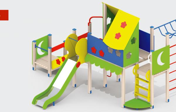 Дитячий ігровий комплекс DIK-06