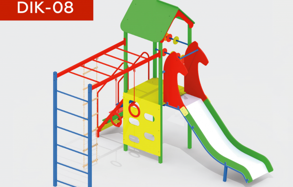 Дитячий ігровий комплекс DIK-08