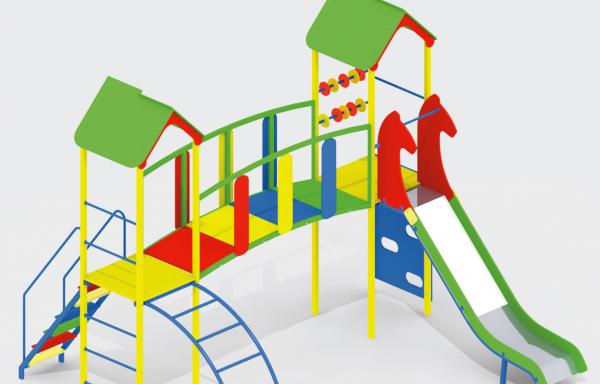 Дитячий ігровий комплекс DIK-09